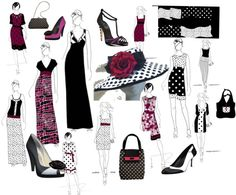 """""""Ascot Dots"""" by perry-tenitiss on Polyvore"""