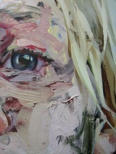Jenny Saville --- The eye in this painting is displaying so much raw emotion. Along with the tones of red and pink the audience instantly recognises the sadness present. I want to create this same instant effect in my images.