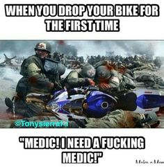IS MY BIKE OK?  This is so true. :'(