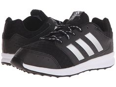 adidas Kids LK Sport 2 (Little Kid/Big Kid) Black/Iron Metallic/Semi Solar Slime - Zappos.com Free Shipping BOTH Ways