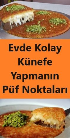 Evde Kolay Künefe Yapmanın Püf Noktaları – Kolay yemekler – Las recetas más prácticas y fáciles Baby Food Recipes, Dinner Recipes, Dessert Recipes, Turkish Recipes, Ethnic Recipes, Healthy Comfort Food, Keto Diet For Beginners, C'est Bon, Eating Habits