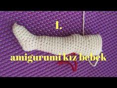 Amigurumi Bebek İçine Tel Koymak 1 | CROCHET Amigurumi Tutorial | How to put wire amigurumi inside? - YouTube