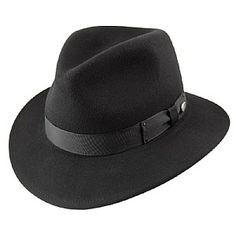 c673476172d Bailey Hats Curtis Crushable Fedora - Black Bailey Hats