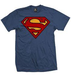 """Camiseta Logo Superman ""  Niño  disponible en www.kingmonster.com.mx"