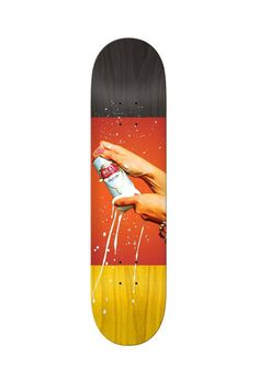 """The Walker Renegade 8.38"""" Deck from Real Skateboards."""