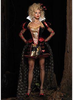 Deluxe Queen Of Hearts Costume #halloween