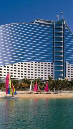 Jumeirah Beach Hotel, Dubai #beautifulview #photography #lomo