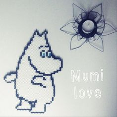 Hama Mumi, moomin, mummi, mumitrold beads, by Sara Seir
