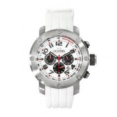 Cheap TW Steel Men's TW122 Grandeur Tech White Rubber Chronograph Dial Watch Lowest Prices - http://greatcompareshop.com/cheap-tw-steel-mens-tw122-grandeur-tech-white-rubber-chronograph-dial-watch-lowest-prices