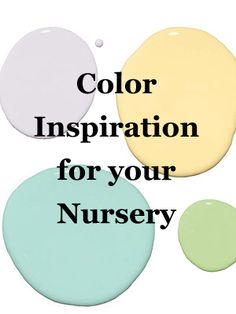 Design pros share their 6 favorite paint color picks for your child's #nursery.