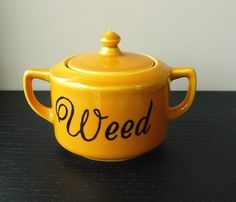 Weed sugar bowl by trixiedelicious on Etsy, $24.00