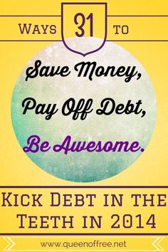 Throughout January, sign up for daily simple tips to get your finances under control from someone who paid off $127K. Today, why it does you no good to throw a pity party while paying off debt AND you'll still have FUN. Debt, Debt Payoff #Debt