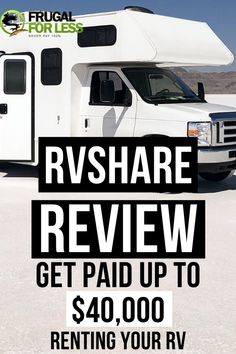 This RVShare review shows you how you can earn extra cash renting out your RV. RVShare is seen as the Airbnb for RVs. Some users report even earning up to $40,000 in extra income - and you can do the same. If you're not a renter, you can also rent an RV. Make Money Fast, Make Money From Home, Rent Rv, Survey Sites That Pay, Earn Extra Cash, Recreational Vehicles, Frugal, Saving Money, Life Hacks