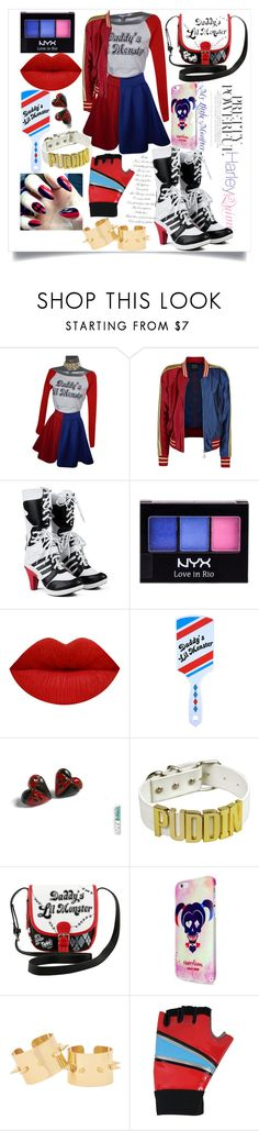 """Harley Quinn Everyday"" by whitewood ❤ liked on Polyvore featuring NYX"