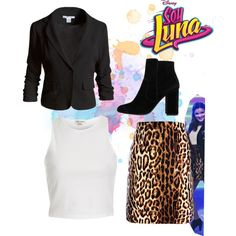 soy luna by maria-cmxiv on Polyvore featuring moda, River Island, Sans Souci, Michael Kors and MANGO