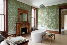 An Outdoor-Inspired Bathroom -- New York Magazine