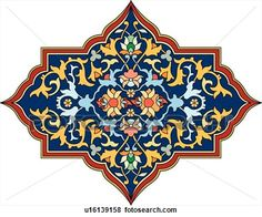 Arabesque Designs (page - stock illustration clip art. Buy royalty free clipart images on disc by Lushpix Illustration. Islamic Art Pattern, Arabic Pattern, Pattern Art, Arabesque Design, Arabesque Pattern, Motif Oriental, Persian Pattern, Royalty Free Clipart, Turkish Art