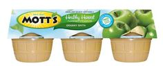 Motts Healthy Harvest Granny Smith Applesauce 6  4 oz Cups 24oz Container Pack of 4 -- To view further for this item, visit the image link.