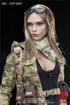 1//6 Military COMBAT suit uniform Tiger pattern Camouflage hot toys phicen ❶USA❶