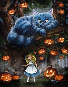 Art by Mallette Blum Children's Book Illustration, Illustrations, Pumpkin Carving, Fantasy Art, Digital Art, Alice, Batman, Deviantart, Superhero