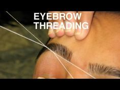 DIY Eyebrow Threading To Beautify Your Eyebrows Instantly! – Cute DIY Projects
