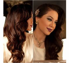 Hairstyles for Casino Night- 20's inspired.
