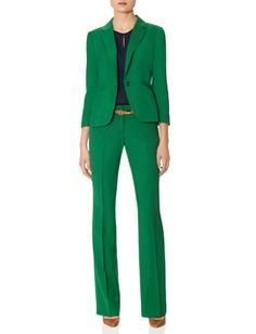 green suit women - Google Search