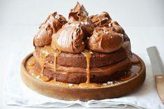 Kublanka vaří doma - Slavnostní dort se slaným karamelem