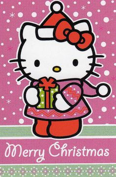 Private swap from England! | Flickr - Photo Sharing! Christmas Hello Kitty