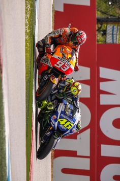 93 marquez & 46 Rossi Assen Vr46, Valentino Rossi, F1, Motorcycles, June, Racing, Running, Auto Racing, Motorcycle