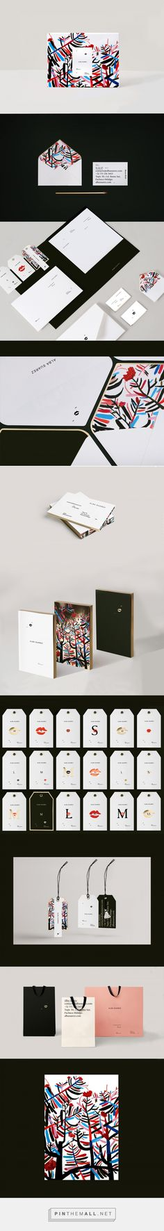 ALBA SUAREZ / branding on Behance - created via https://pinthemall.net