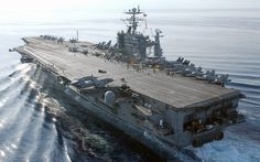 """Navy embraces e-cigs with introduction of """"Vape Decks"""" on aircraft carriers"""
