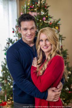 the christmas spirit daniel and charlotte - Hallmark Christmas Movies 2013
