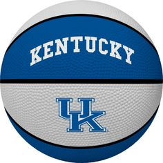 Put your Kentucky Wildcats fandom front and center as you head to the court when you grab this Crossover Full-Size Basketball. This Rawlings ball is perfect for an avid Kentucky Wildcats fan like you. Whether you keep it as a collectible or use it to show off your skills, no one will be able to deny you're the #1 fan when they see sweet Kentucky Wildcats graphics on this basketball. Chino Hills Basketball, Nc State Basketball, Logo Basketball, Basketball Equipment, Basketball Drills, Basketball Uniforms, Basketball Players, Sports Equipment