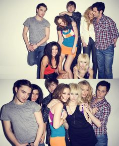 Gossip Girl cast--good times...come back!