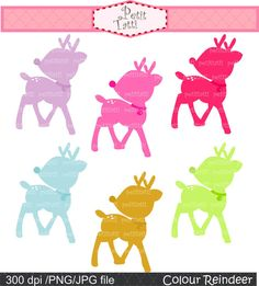fawn clip art Bambi Digital clip art  for all by petittatti, $4.80