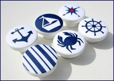 Kids Dresser Knobs  Drawer Pulls  Nautical by SweetPetitesBoutique, $5.00