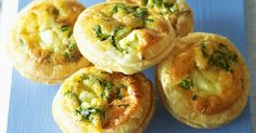 These easy-to-make smoked salmon mini-quiches are great for entertaining.