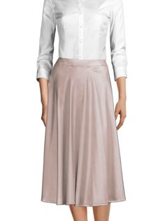 Midi skirts are the perfect addition to your Spring wardrobe ☀️ Made to YOUR measurements! Casual Skirts, Suits For Women, Perfect Fit, Midi Skirts, Shirt Dress, Chic, My Style, Womens Fashion, How To Wear