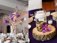 real colorado wedding | purple table decor | purple flowers | Lindsay B. Photography | anna be | Denver, CO