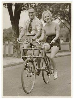 Tandem Bike. www.ochomesbyjeff.com #orangecountyrealtor #jeffforhomes #ilovebikes