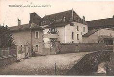 Il laboratorio farmaceutico Dausse in una cartolina di inizio '900.