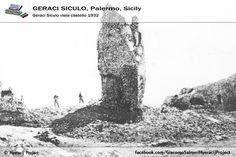 #GeraciSiculo. . . . , non è solo Geraci!!!! è . . . . da . . . .VIVERE!!! Vista Castello 1932!!!   Il portale ufficiale del progetto 👉 www.hyeracijproject.it