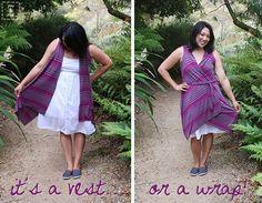 Summer Vest/Wrap
