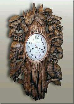 Lechuzas reloj: