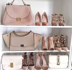 blush-and-muted-handbags- Branded handbag that are on trend