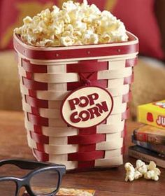 Longaberger Popcorn Basket