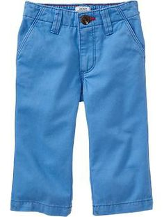 Pop-Color Twill Pants for Baby | Old Navy