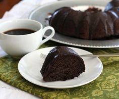 Low Carb Chocolate Zucchini Bundt Cake Recipe | All Day I Dream About Food