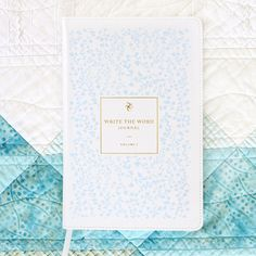 """TheWrite the WordBible journal isunique.With my small business, and three littles running underthesame roof, my """"quiet time"""" eachday is pretty..."""